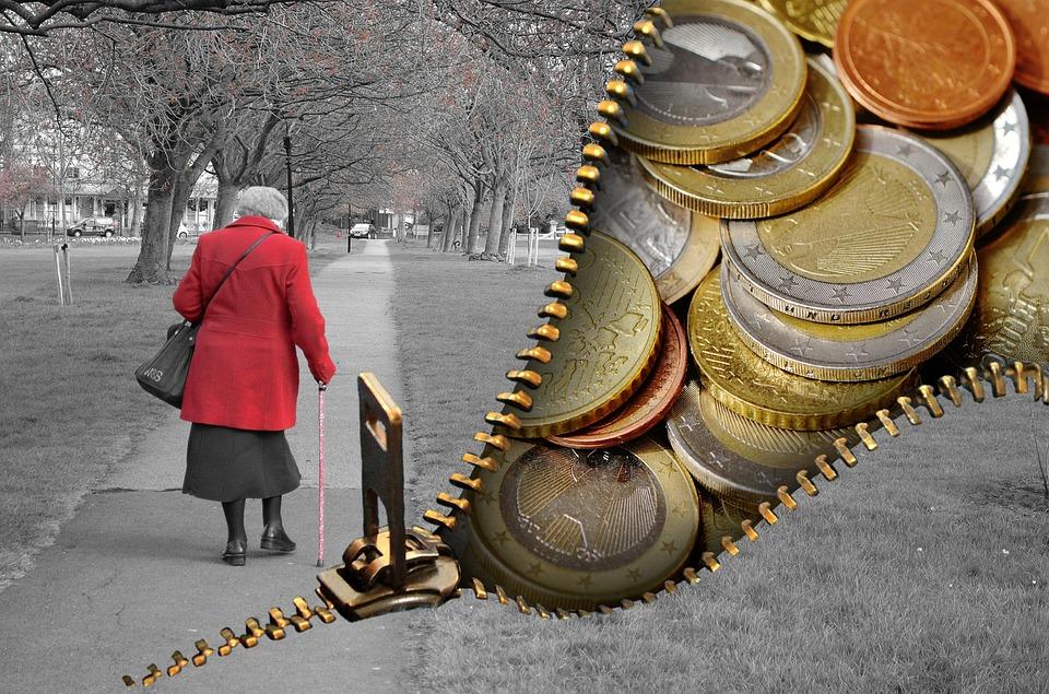 emeryt i pieniądze